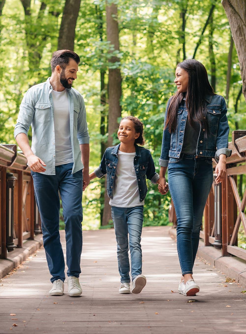 parents-and-child-on-bridge